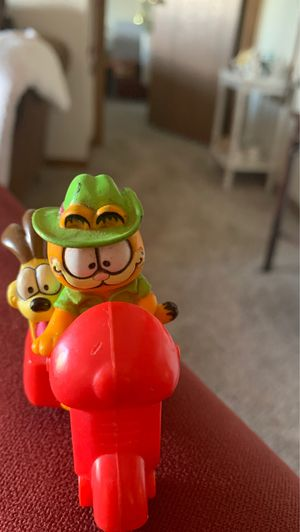McDonald's McDonald's 1988 Happy Meal Toy Garfield Scooter Vintage Collectible Action Figure for Sale in Grandville, MI