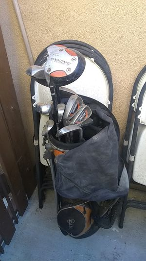 Ram golf clubs left handed sand wedge included for Sale in Corona, CA