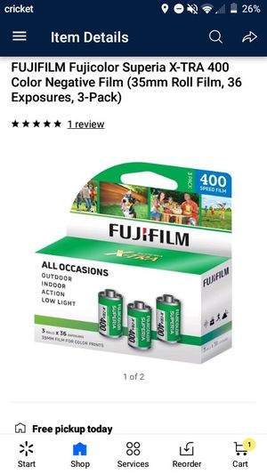 FujiFilm 35mm for Sale in Fresno, CA