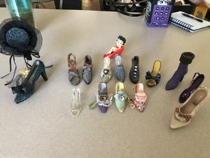 Miniature shoe collection. for Sale in Gilbert, AZ