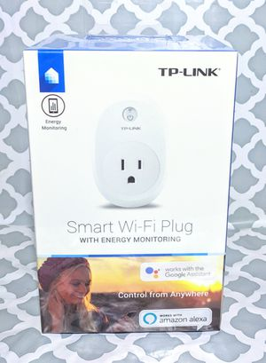 TP-LINK Smart Wi-Fi Plug w/ Energy Monitoring (HS110) for Sale in Palmdale, CA