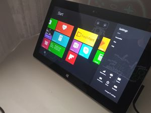 Microsoft Surface Tablet And Charger (1st generation) for Sale in Haltom City, TX