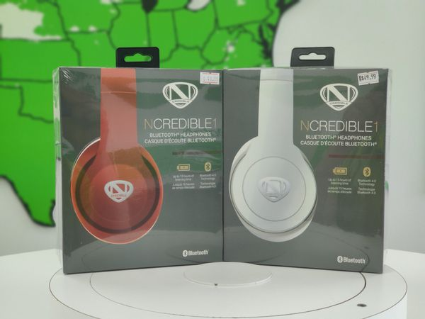 NCREDIBLE1 Bluetooth Headphones