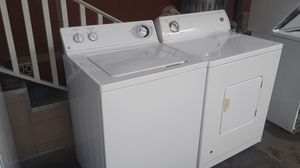 Washer and gas dryer super capacity plus!! for Sale in South Gate, CA