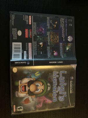 Luigis mansion GameCube for Sale in Lisle, IL