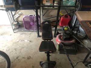 Adidas Weight Bench for Sale in Houston, TX