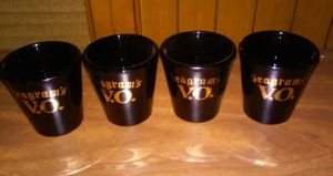 Collectible Seagrams VO Shot Glasses for Sale in Fort Worth, TX