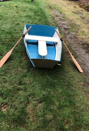 Wood row boat for Sale in Snohomish, WA