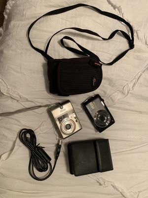 Two small Nikon Coolpix cameras for Sale in Crestview, FL