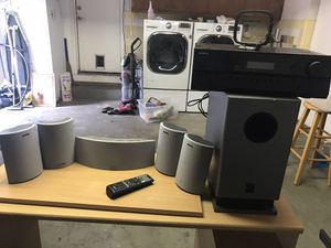 Onkyo Speaker and Receiver for Sale in Mount Hamilton, CA