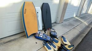 Three boogie boards all for $25 for Sale in Huntington Beach, CA