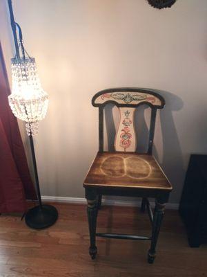 Vintage Antique elegant wood chair for Sale in Gaithersburg, MD