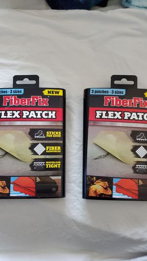 FiberFix Flex Patch : Bundle of 2 for Sale in Modesto, CA