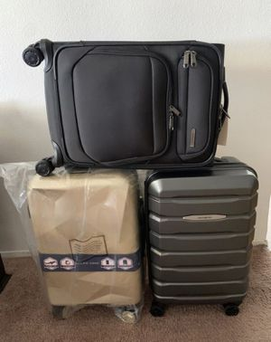"""$30 each price firm hardshell soft case spinner carry on 22"""" bag suitcase luggage maleta baggagem for Sale in San Diego, CA"""