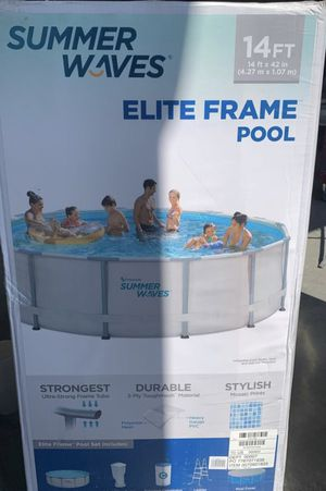 Summer waves 14ft pool for Sale in Fresno, CA