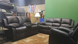 Brown reclining sofa and loveseat couch for Sale in Portland, OR