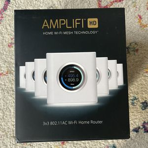 AMPLIFI HD Router and a Mesh Point for Sale in Darien, CT