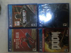 4 brand new sealed PS4 games for Sale in Gilroy, CA