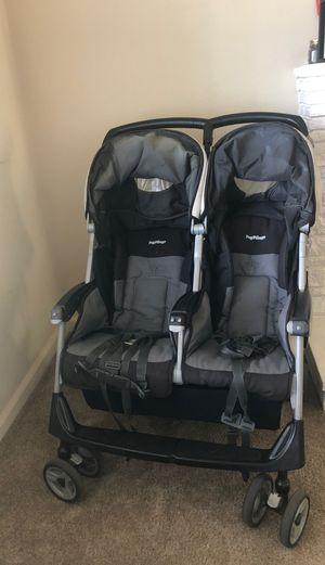 Peg-Perego Aria double stroller for Sale in Redwood City, CA