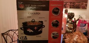 Denver bronco crock pot brand new for Sale in Lakewood, CO