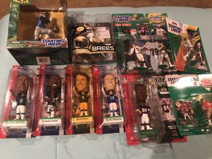 Football Starting Lineup & Upper Deck Figures for Sale in Balm, FL
