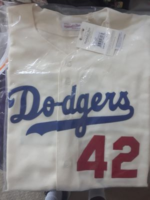 1955 Jackie Robinson Brooklyn Dodgers Jersey for Sale in Costa Mesa, CA