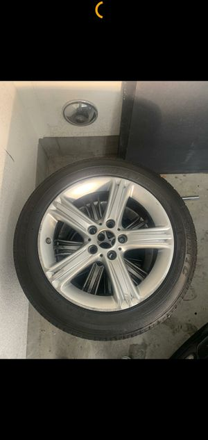 Rims bmw 17 with tires for Sale in Chula Vista, CA