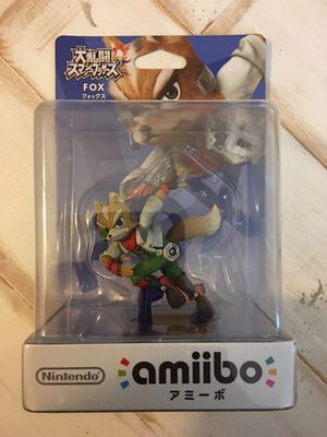 New Smash Bros Amiibo - Fox - Nintendo Switch Wii U for Sale in Brentwood, CA