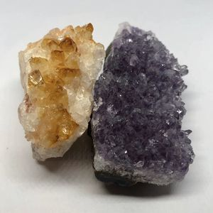 Amethyst & Citrine Crystal Cluster 288g total for Sale in Queen Creek, AZ