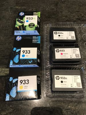 HP printer ink 933 and 932 for Sale in Saratoga, CA