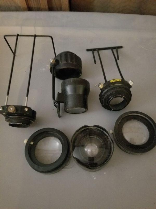 Camera equipment, lenses