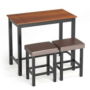 3 Piece Set Pub Dining Table With Stools HW63991 for Sale in South El Monte, CA