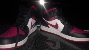 Air Jordan 1 (Red/ Burgendy & White) for Sale in Farmington Hills, MI