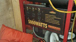 6250 Peak 5000 watt Generac Generator for Sale in Hollywood, FL