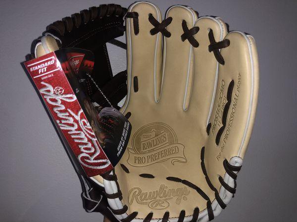 Baseball Glove Equipment Rawling Pro Preferred