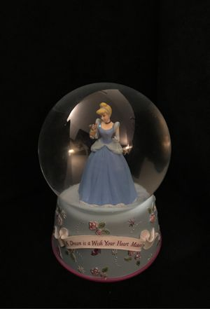 Disney snow globe Cinderella for Sale in Lafayette, CA