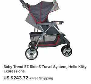 Hello Kitty Stroller for Sale in Baltimore, MD