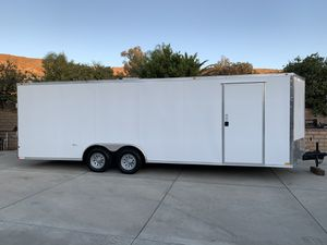 "(Brand new 2020) 24' plus v-nose x 102"" for Sale in Riverside, CA"
