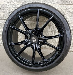 "Porsche 911 Carrera S 20"" Black Factory Wheels Rims Tires Excellent! for Sale in Los Angeles, CA"