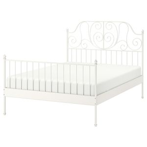 IKEA full size bed frame white for Sale in Seattle, WA