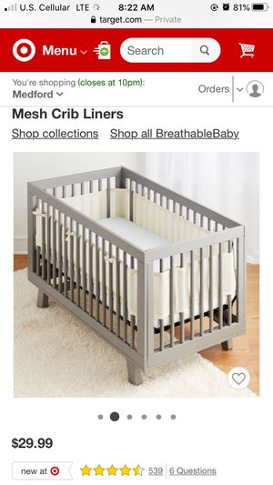Mesh lining • safety bedding for Sale in Grants Pass, OR