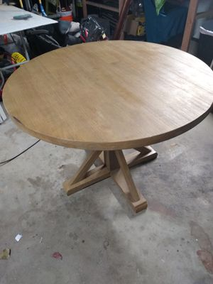42' Farmhouse style kitchen table for Sale in Manteca, CA