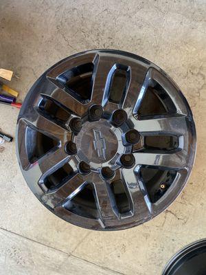 "18"" Chevy hd wheels for Sale in Murrieta, CA"