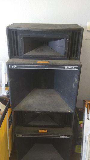 PEAVEY SP-3 SPEAKERS $160 EACH for Sale in Phoenix, AZ