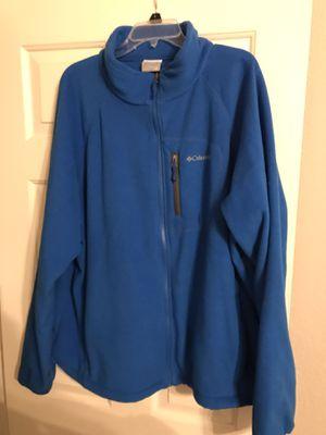 Columbia Men's Fleece Jacket 2XL XXL for Sale in Burleson, TX