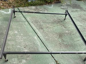 Bed frame, fits twin & full for Sale in Bradenton, FL