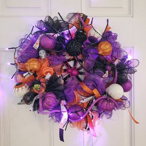 Spooky spider halloween wreath for Sale in Kansas City, MO