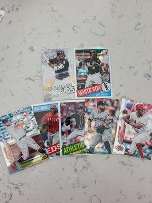 Luis Robert Topps chrome baseball cards for Sale in Pomona, CA