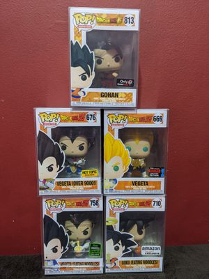 Dragonball Z Funko Pops for Sale in Chicago, IL