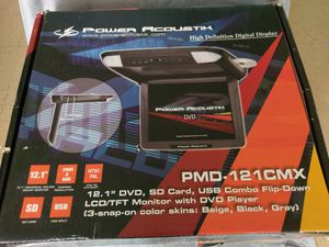 12.1in mounted DVD player for Sale in Portland, OR